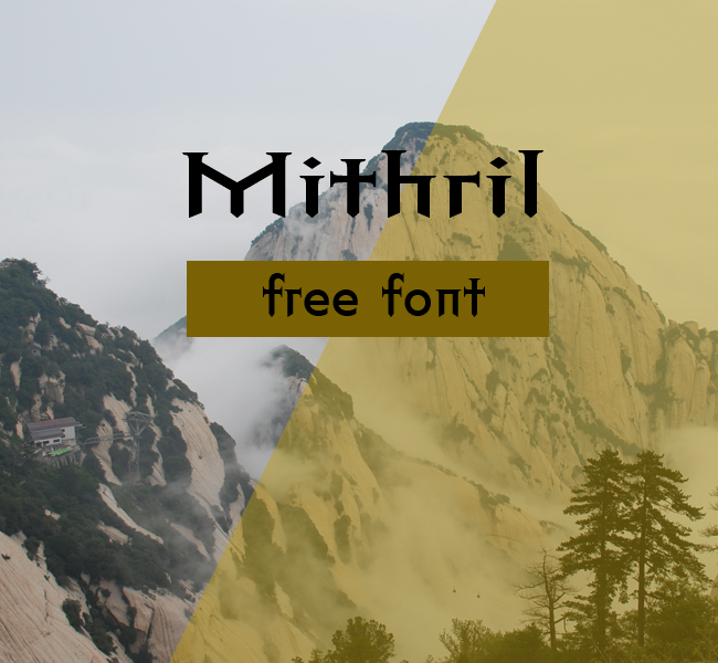 chinesefontdesign.com 2017 04 20 14 36 08 Mithril Font Download