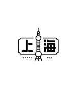 10P Beautiful Chinese font logo deformation