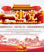 The celebration of the Chinese Communist Party celebrates poster PSD File Free Download