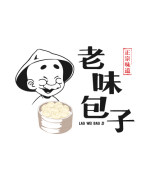 8P China 's steamed stuffed bun shop logo style design