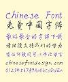 XuKe Li Pen Cursive Script Chinese Font-Simplified Chinese Fonts