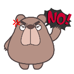 100 loser bear expression collection emoji free download