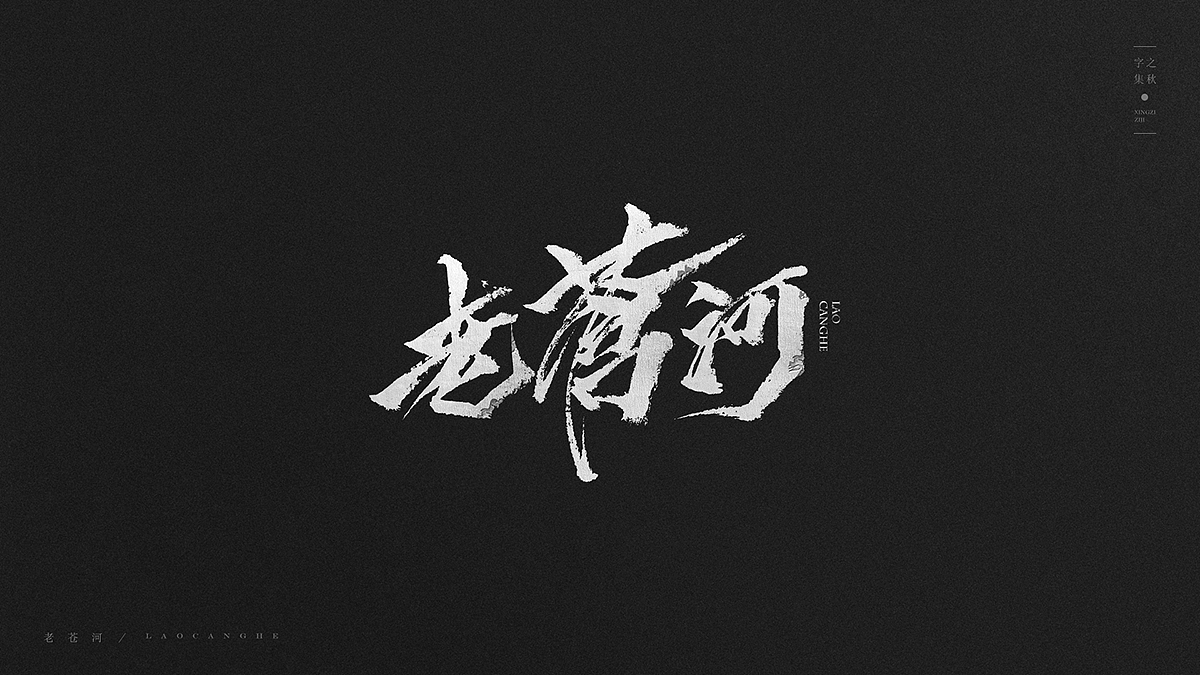12P Chinese traditional calligraphy brush calligraphy font style appreciation #.42
