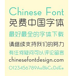 Permalink to YueYuan Belle Chinese Font-Simplified Chinese Fonts