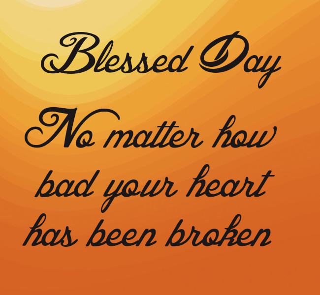 Blessed Day Font Download