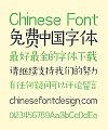 Zao Zi Gong Fang(Prohibition of commercial use) Elegant Chinese Font -Simplified Chinese Fonts