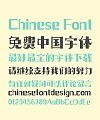 Zao Zi Gong Fang(Prohibition of commercial use) Fate Art Chinese Font -Simplified Chinese Fonts