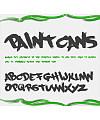 PaintCans Font Download