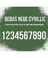 Bebas Neue Cyrillic Font Download