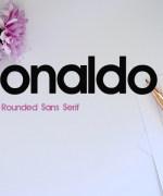 Ronaldo Font Download