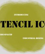 Stencil ICG Font Download
