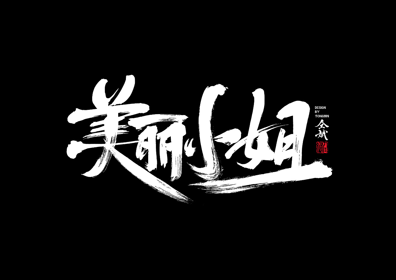 29P Chinese traditional calligraphy brush calligraphy font style appreciation #.385
