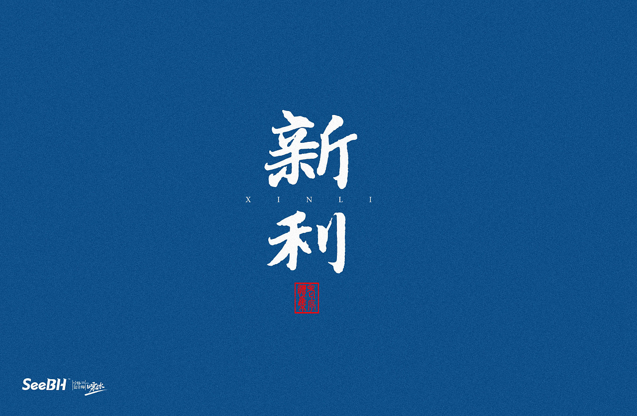 14P Chinese traditional calligraphy brush calligraphy font style appreciation #.417