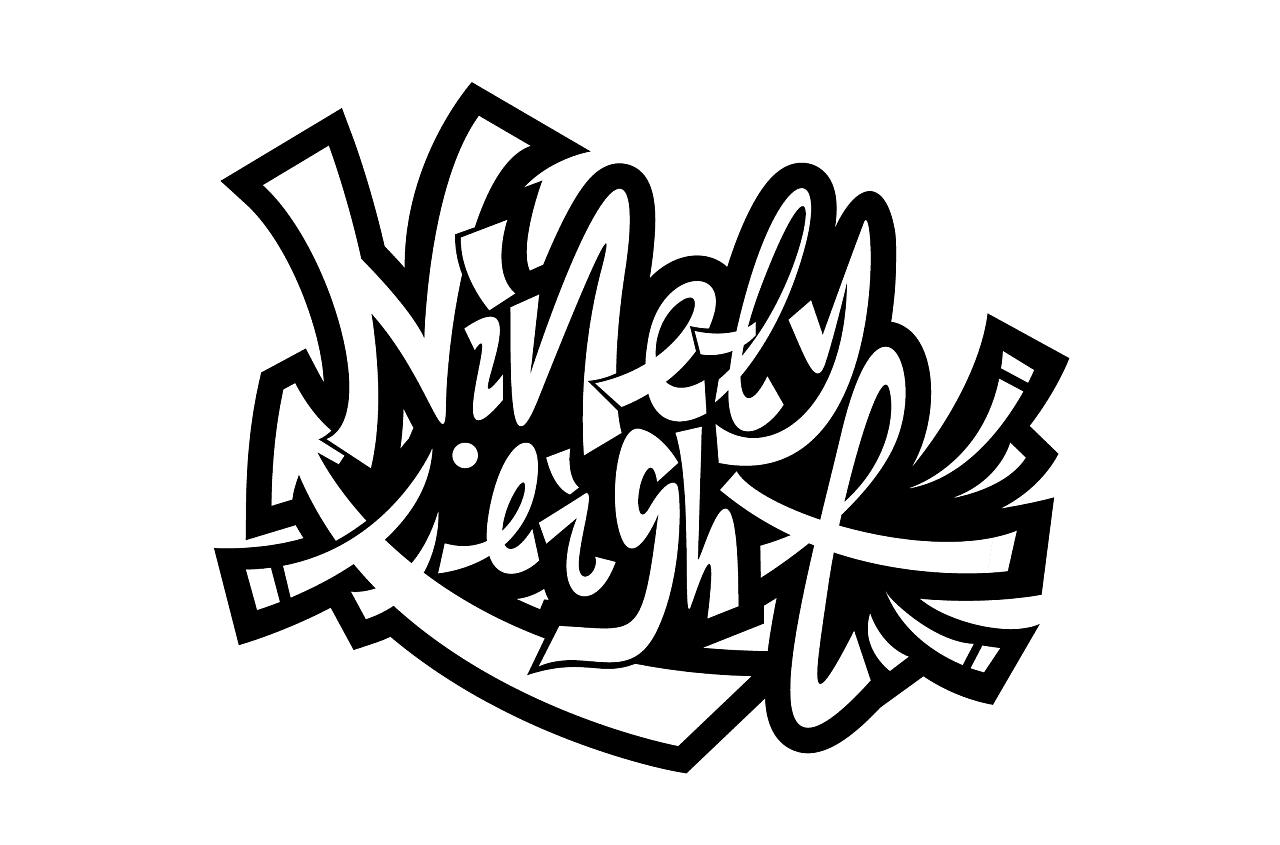 7P Cool Chinese graffiti fonts