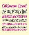 Pattern Frame Art Chinese Font-Simplified Chinese Fonts