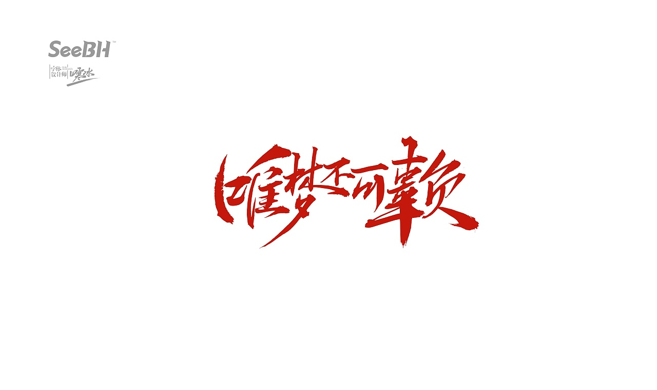 16P Chinese traditional calligraphy brush calligraphy font style appreciation #.592