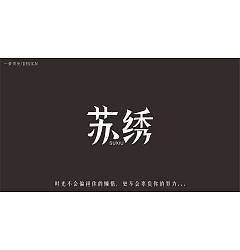 Permalink to 10P Creative Chinese font logo design scheme #.656