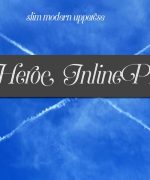 Heroe Inline Pro Font Download
