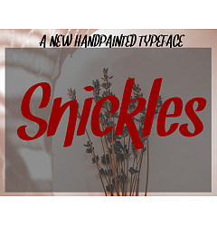 Permalink to Snickles Font Download
