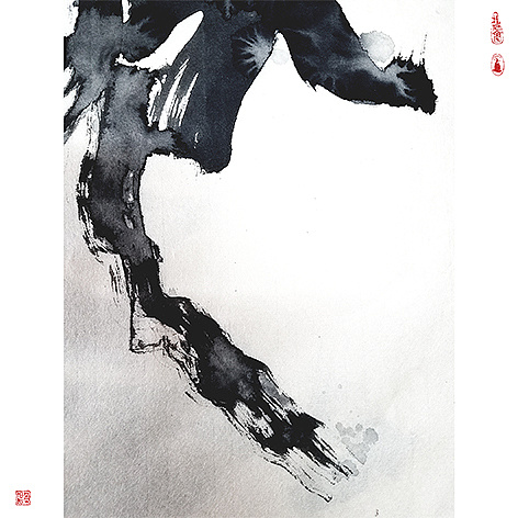 11P Chinese traditional calligraphy brush calligraphy font style appreciation #.630