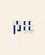 15P Creative Chinese font logo design scheme #.706