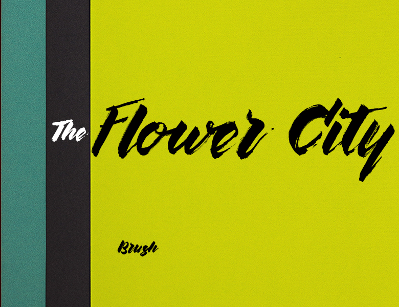 The Flower City Font Download