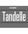 Tandelle Font Download