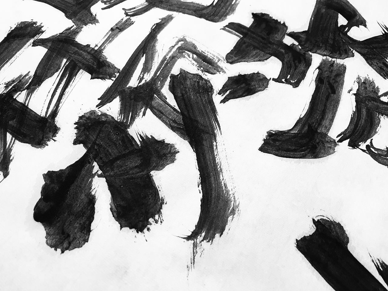 54P Chinese traditional calligraphy brush calligraphy font style appreciation #.665