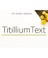 TitilliumText14L-Bold Font Download