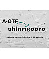 A-OTF Shin Maru Go Pro Font Download