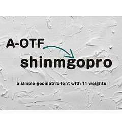 Permalink to A-OTF Shin Maru Go Pro Font Download