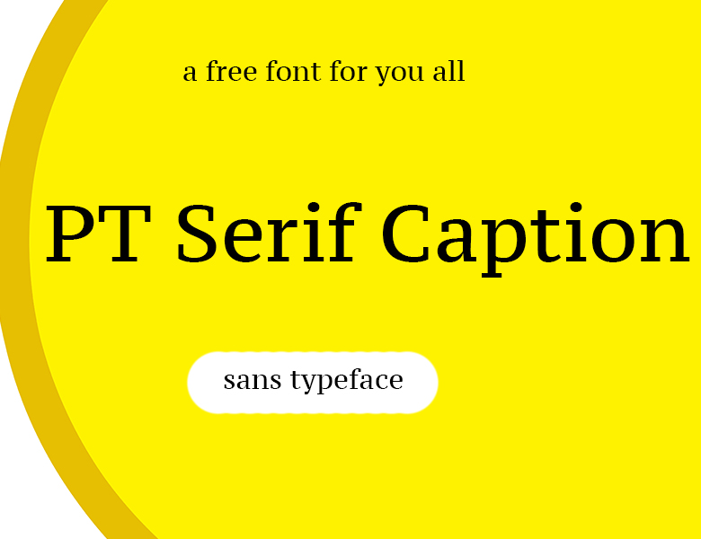 PT Serif Caption Font Download