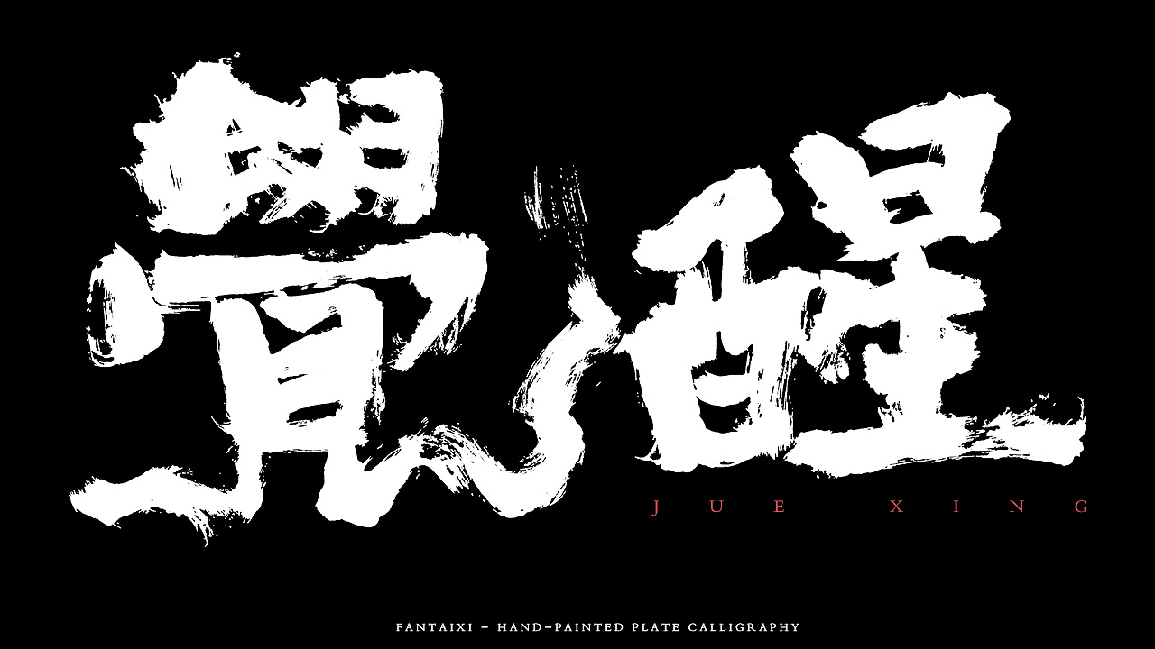 10P Chinese traditional calligraphy brush calligraphy font style appreciation #.793