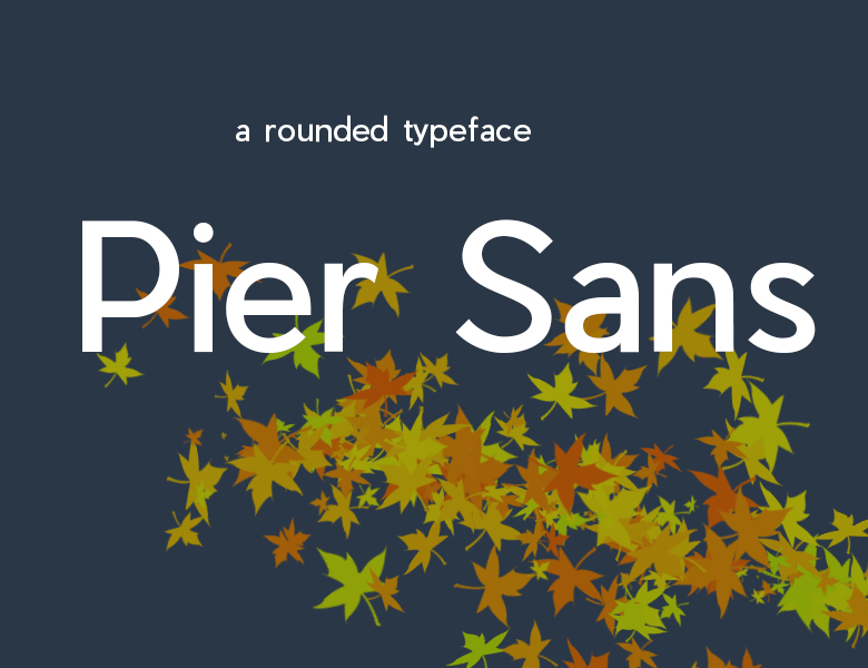 Pier Sans - Regular Font Download