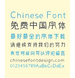 Permalink to ZhuLang Hanfu Art Chinese Font-Simplified Chinese Fonts