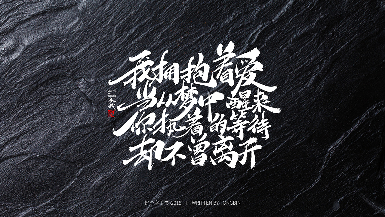 15P Chinese traditional calligraphy brush calligraphy font style appreciation #.904