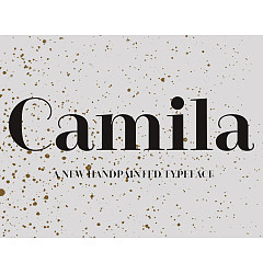 Permalink to Camila-Bold Font Download