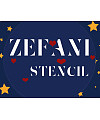 Zefani Stencil-Regular Font Download
