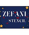 Zefani Stencil-Regular Font Download