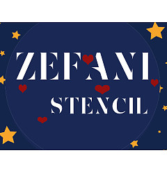 Permalink to Zefani Stencil-Regular Font Download