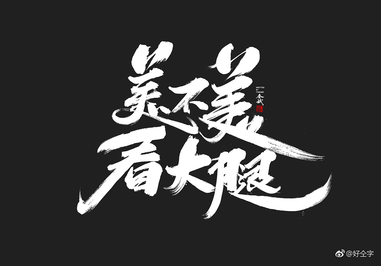 29P Chinese traditional calligraphy brush calligraphy font style appreciation #.977