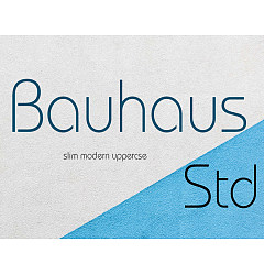 Permalink to Bauhaus Std Light Font Download