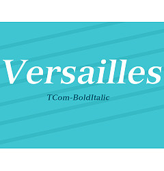 Permalink to Versailles LT Com Bold Italic Font Download