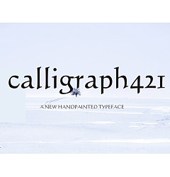 Permalink to Calligraph421 BT Font Download