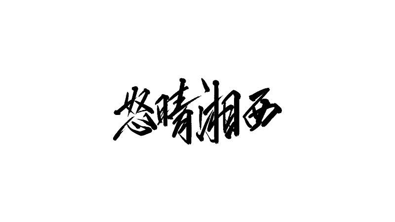 17P Chinese traditional calligraphy brush calligraphy font style appreciation #.1063