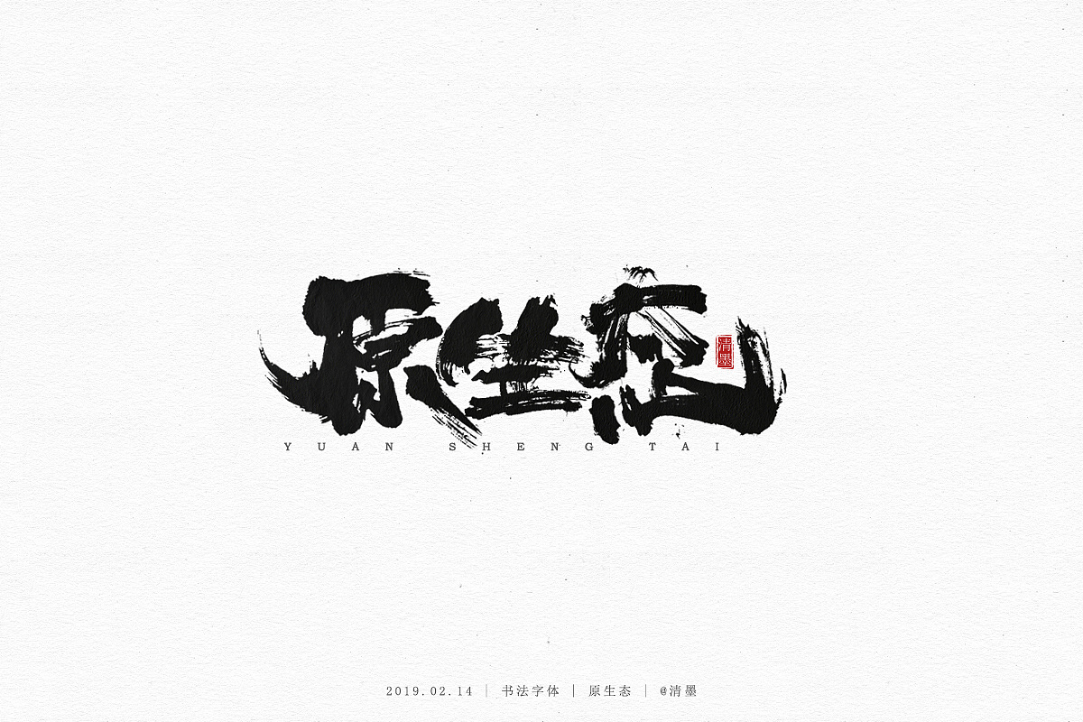 19P Chinese traditional calligraphy brush calligraphy font style appreciation #.1125
