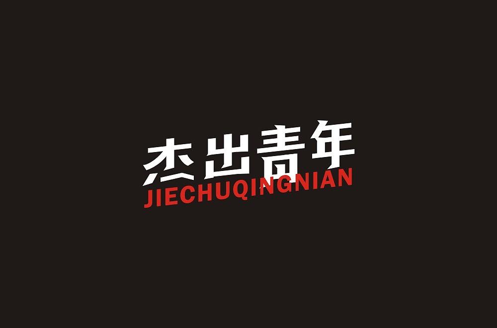 19P Creative Chinese font logo design scheme #.1329