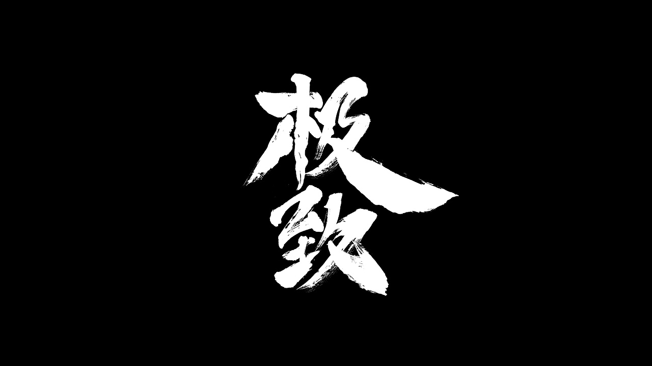 11P Chinese traditional calligraphy brush calligraphy font style appreciation #.1172