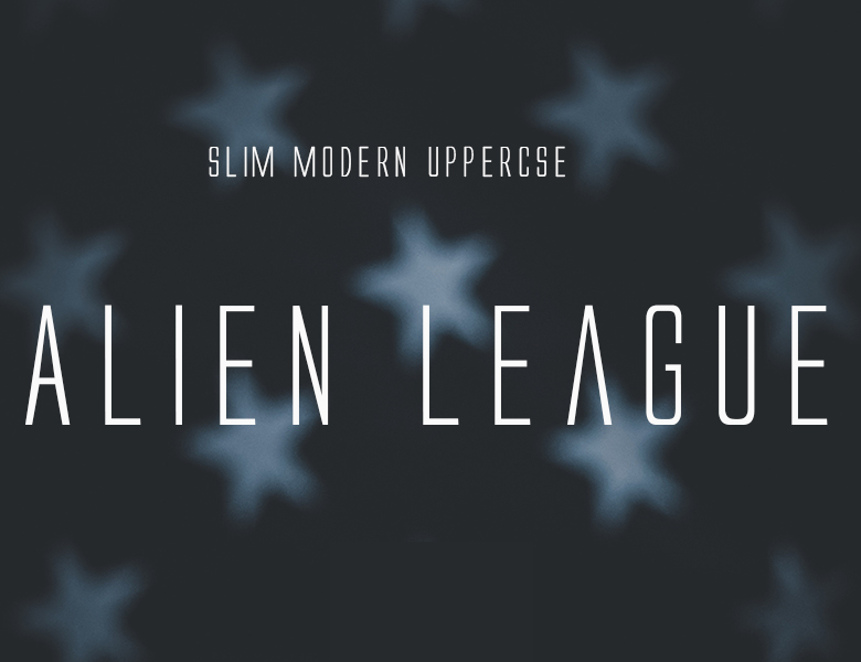 Alien League Font Download
