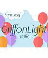 GriffonLight Italic Font Download